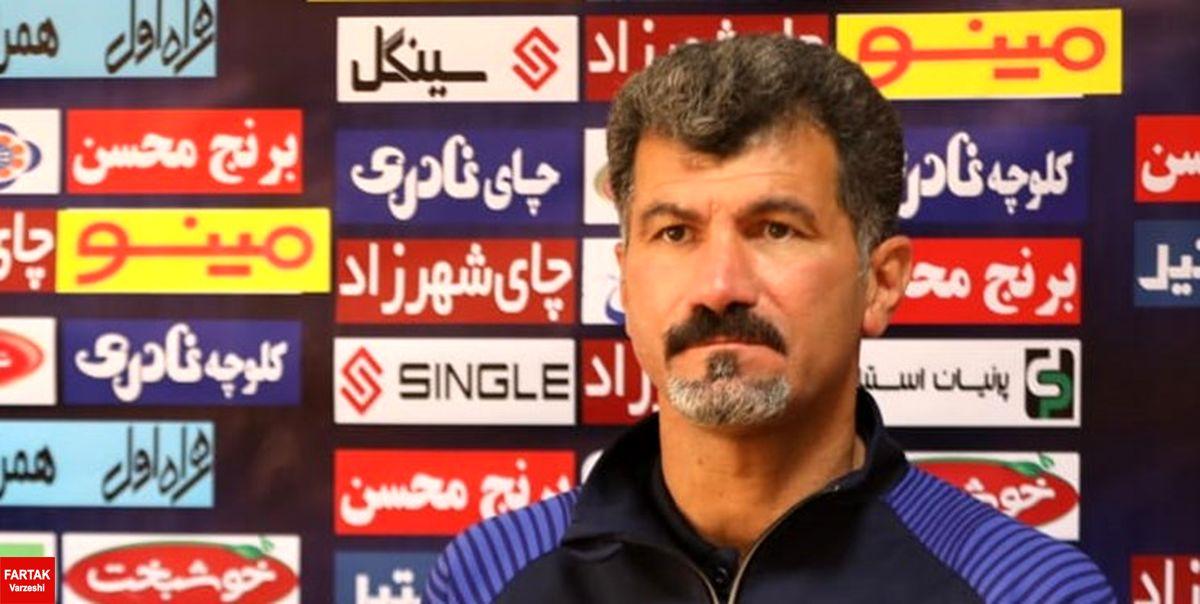 یزدی: امیدواریم هواداران به ما انرژی بدهند