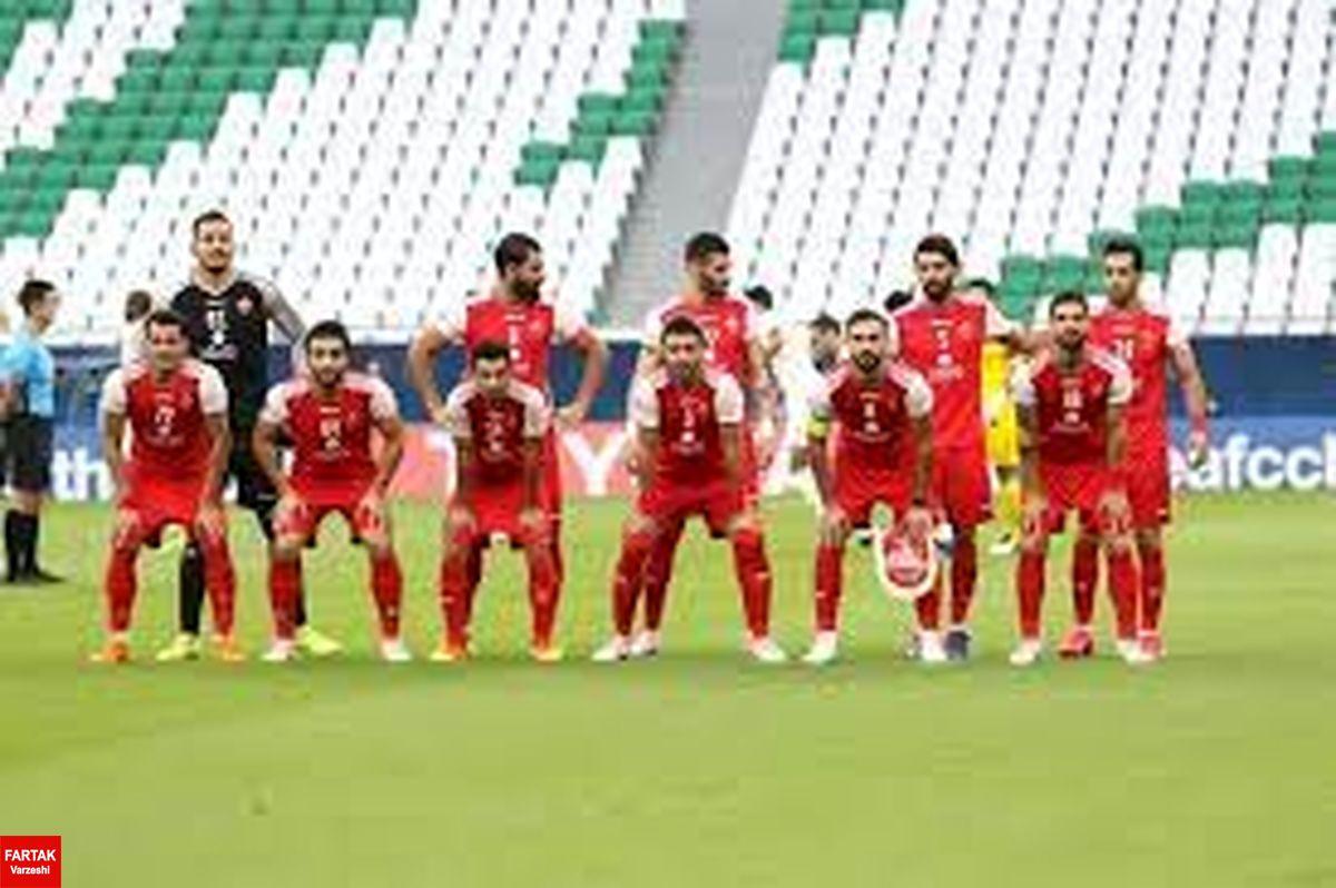 زمان بازگشت پرسپولیس به ایران با مسئولان AFC هماهنگ شد