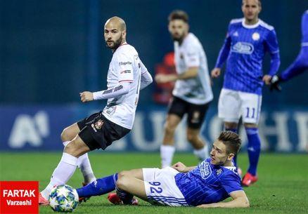 لیگ برتر کرواسی| ۳ امتیاز خانگی دینامو زاگرب در حضور صادق محرمی