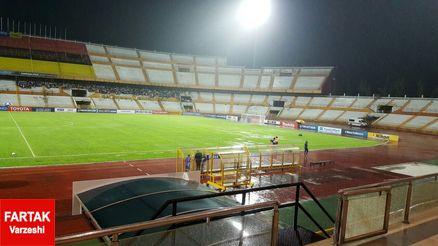 اتفاقات عجیب در سرمبان مالزی/ موش ها به استادیوم بازی ایران و سوریه حمله کردند