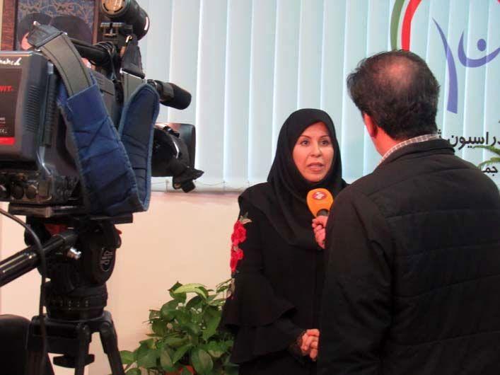 گزارش تصویری دکتر زهرا اینچه درگاهی رئیس فدراسیون ژیمناستیک