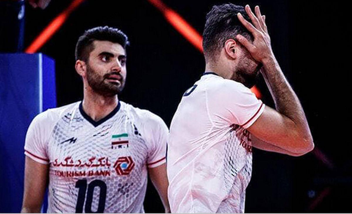 والیبال ایران باز هم شکست خورد