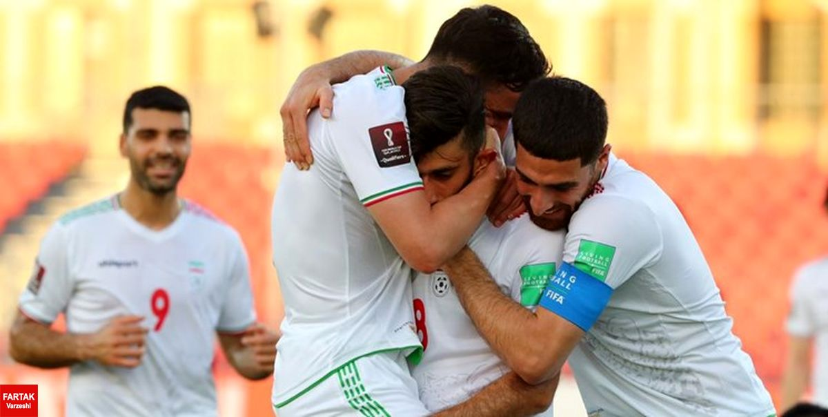 انتخابی جام جهانی  قلیزاده تیم ملی را برنده راهی رختکن کرد