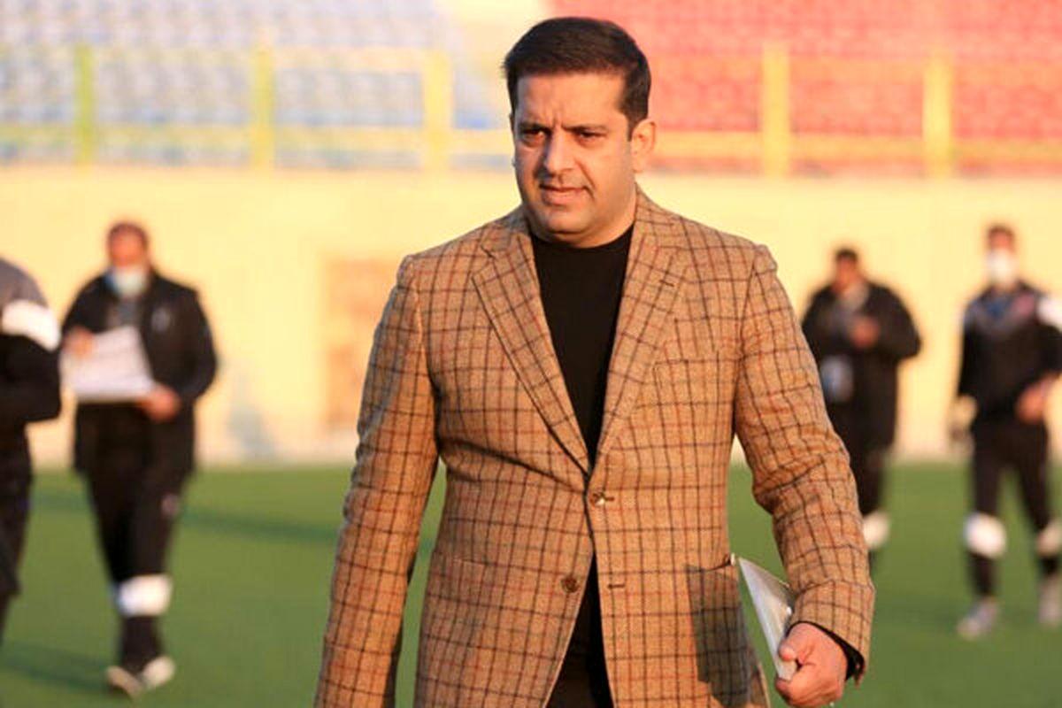 سیف الله پور سرپرست مدیرعاملی باشگاه نساجی مازندران شد