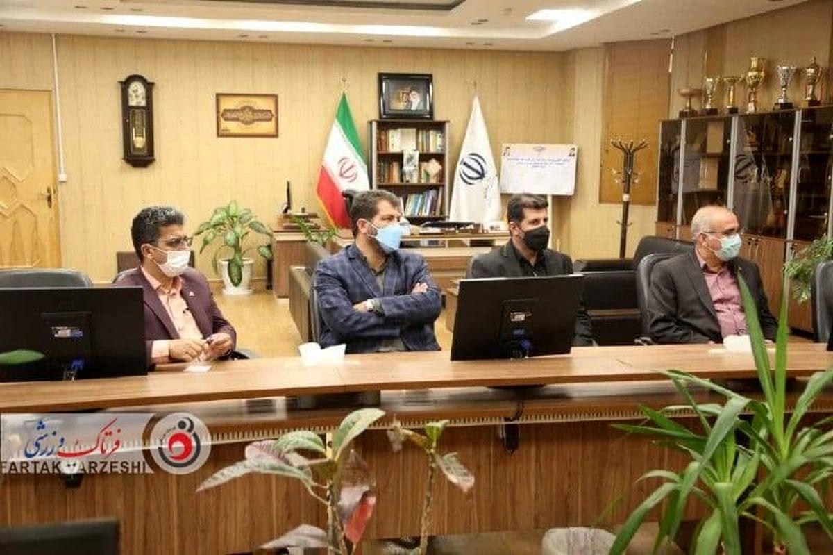 دیدار مدیرعامل باشگاه ذوب آهن با مدیرکل ورزش و جوانان استان اصفهان
