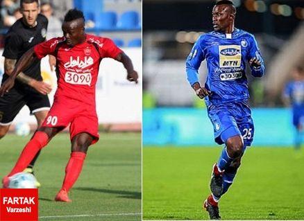 تقابل دو مهاجم آفریقایی سرخابی ها با پیروزی کدام تیم به پایان میرسد؟