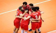لیگ ملتهای والیبال  ۱۴ بازیکن ایران مقابل ژاپن مشخص شدند