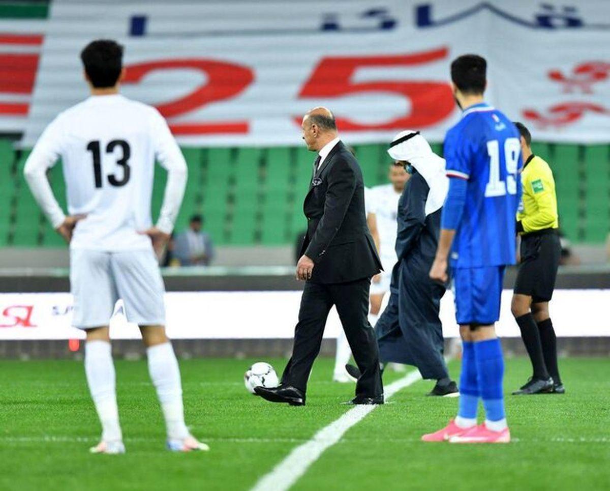 تیم ملی عراق موفق به شکست کویت شد