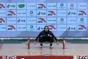 قهرمانی وزنهبرداری آسیا  یونسی در یکضرب ششم شد