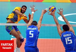ایتالیا – برزیل؛ جنگ قدرتهای والیبال برای مدال طلا