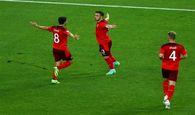یورو ۲۰۲۰  پیروزی سوئیس برابر ترکیه و برد ایتالیا برابر ولز در نیمه نخست