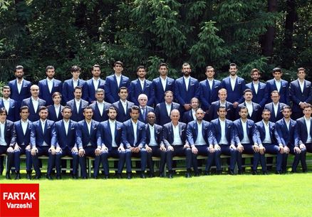 شیکپوشی ملی پوشان غوغا به پا کرد/بازیکنان بیشتر شبیه مدل هستند تا فوتبالیست!