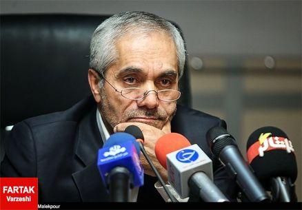 طاهری: منصوریان یک صحبتی کرده و دلیلی نمیبینم جواب او را بدهم