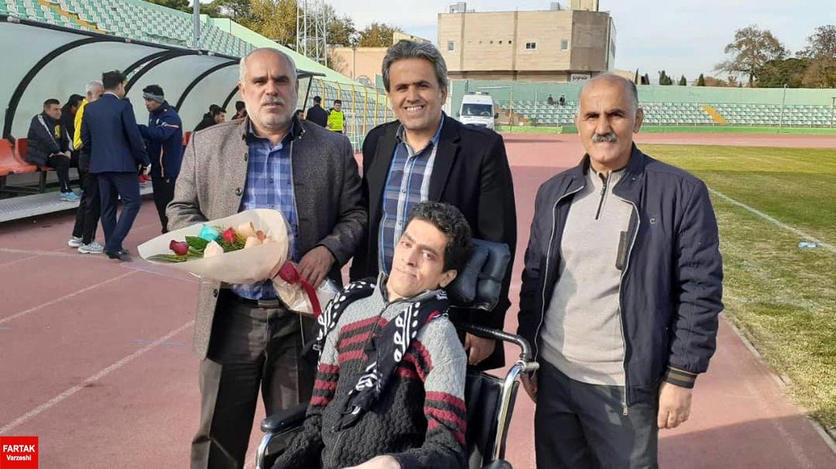 حرکت قابل شایسته باشگاه خیبر خرم آباد