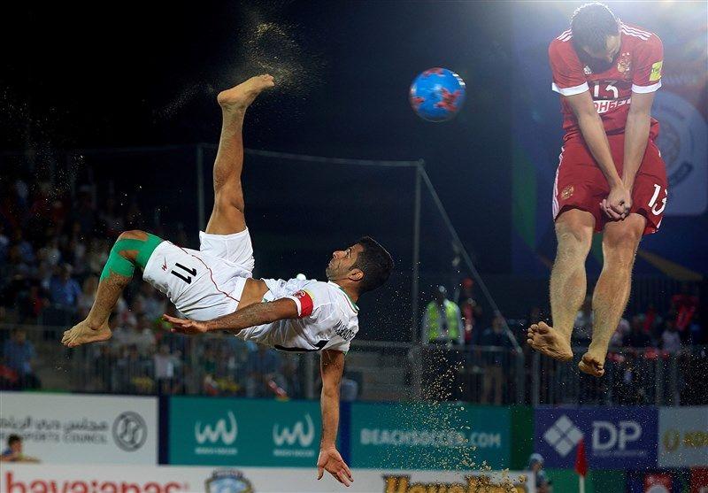 بازیهای جهانی ساحلی  تیم فوتبال ساحلی ایران به نیمهنهایی رسید