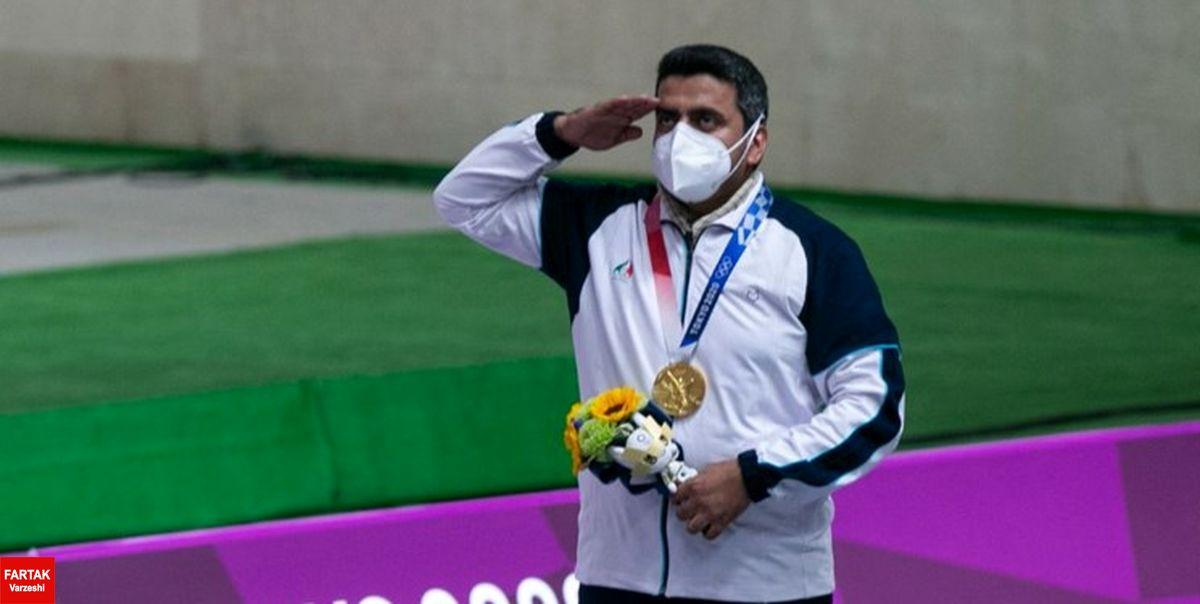ایران با طلای رکوردشکن، در رده پنجم جدول رده بندی المپیک توکیو