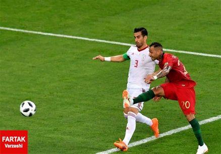 گزارش فیفا از تسلیم شدن بیرانوند مقابل کوارشما در جام جهانی ۲۰۱۸