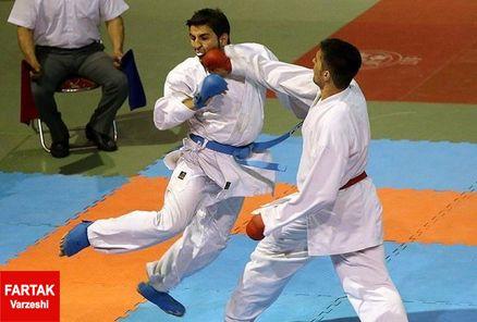 ششمین مرحله اردوی تیم ملی کاراته برگزار شد
