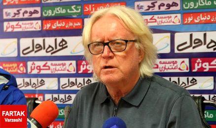 فریاد پیروزی وینفرد شفر سوژه عکاسان شد + عکس
