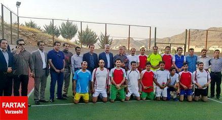 پیروزی ورزشینویسان لرستان مقابل صدا و سیمای مرکز لرستان