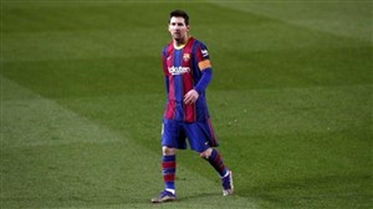 بازگشت چند ساعته لیونل مسی به بارسلونا