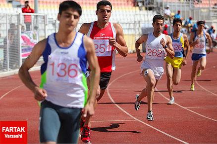 روز اول لیگ دوومیدانی مردان/ قهرمانی قاسمی در ۱۰۰ متر در غیاب تفتیان