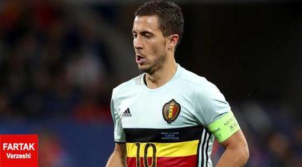 مصدومیت بدموقع برای ستاره بلژیکی؛ مچ پای هازارد شکست!