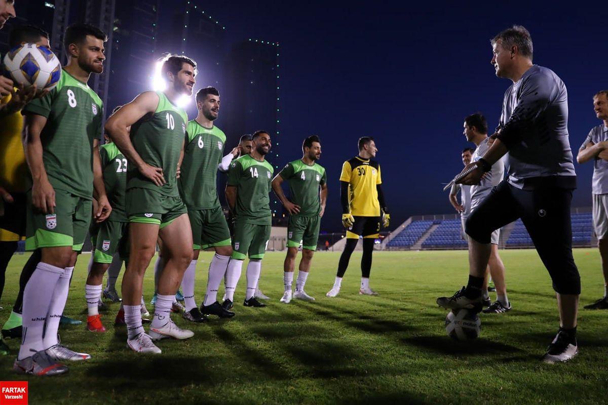 تیم ملی و ۹ تغییر نسبت به فهرست خرداد!