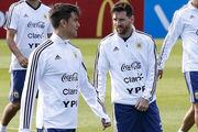 دیبالا و ترک اردوی تیم ملی آرژانتین