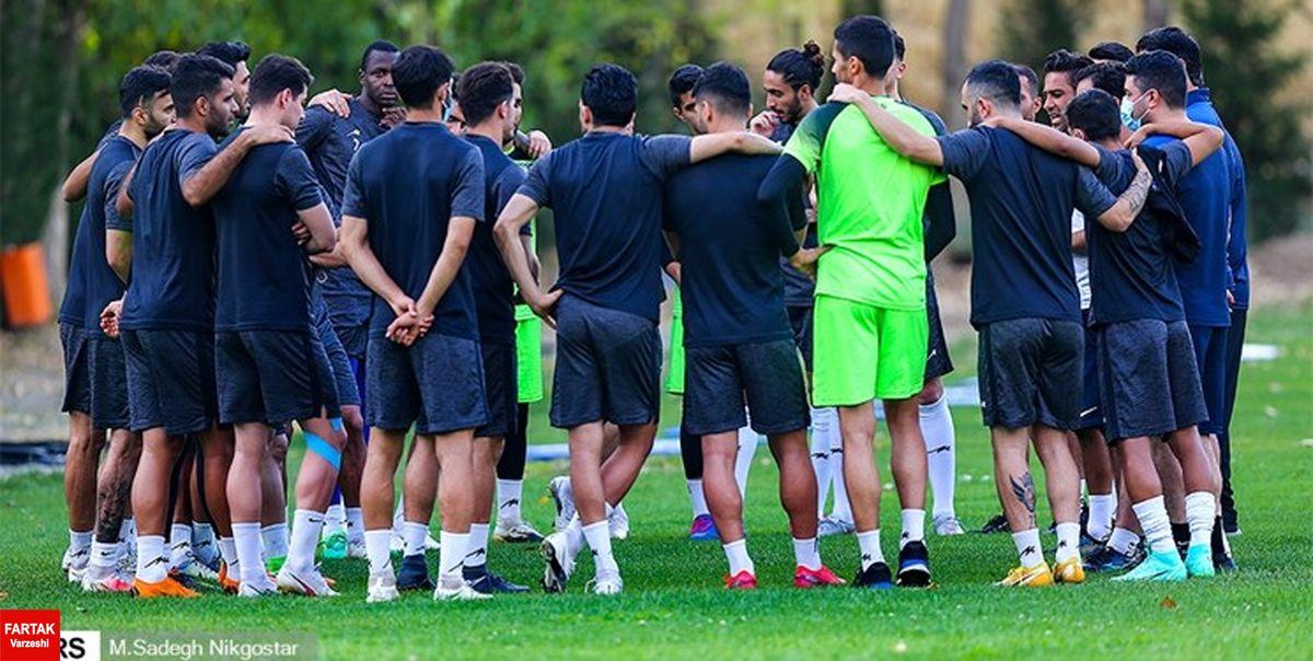 گزارش تمرین استقلال|استارت مجیدی با 20 بازیکن