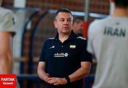 سرمربی تیم ملی والیبال ایران تا 2020 ماندنی شد