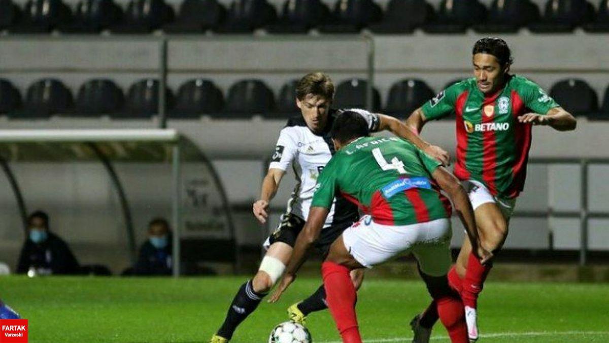 جام حذفی پرتغال| حذف ماریتیمو با علیپور با شکست مقابل تیم دسته دومی