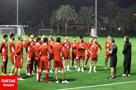 پرسپولیس با تیم قطری بازی میکند