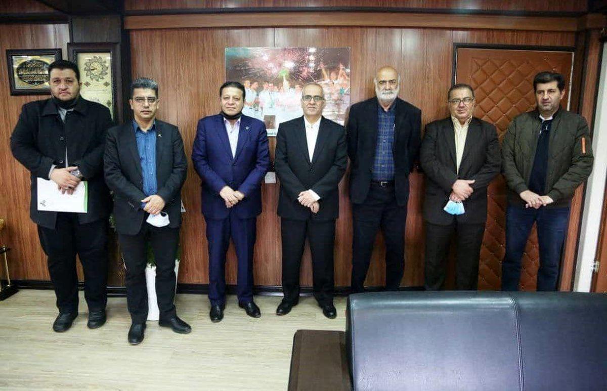 دیدار مدیرعامل باشگاه سپاهان با مدیرعامل باشگاه ذوب آهن اصفهان
