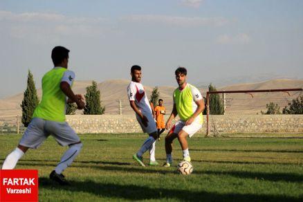 گزارش تمرین امروز تیم خیبر خرم آباد