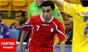 حسن زاده گلزنترین بازیکن ایران