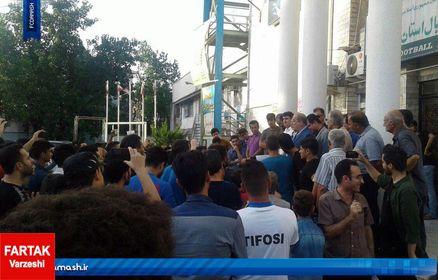 سرمایه گذار خارجی، با حضور پرشور هواداران داماش وارد رشت شد
