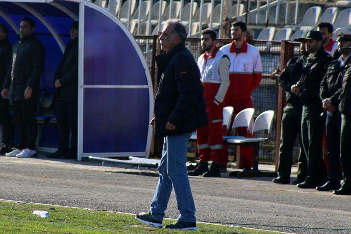 احمدزاده بار دیگر از هدایت ملوان استعفا داد+عکس