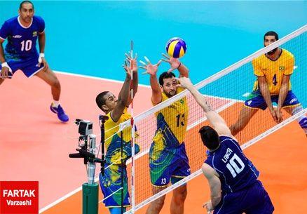 برزیل قهرمان والیبال مردان المپیک شد
