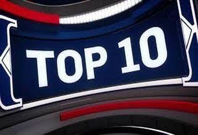 10 حرکت برتر بسکتبال NBA در دیدارهای امروز + فیلم