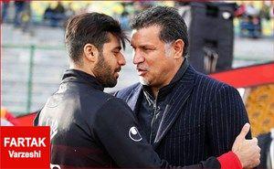 سلام دوباره ستاره بوشهری به استاد سابق