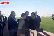 حضور مهدوی کیا و تشویق هواداران در تمرین پرسپولیس