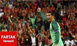 تاثیر رونالدو روی پنالتی همتیمیاش مقابل لهستان