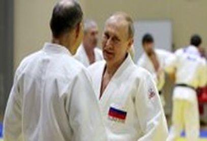 تمرینات جودوی پوتین در ۶۶ سالگی!+فیلم