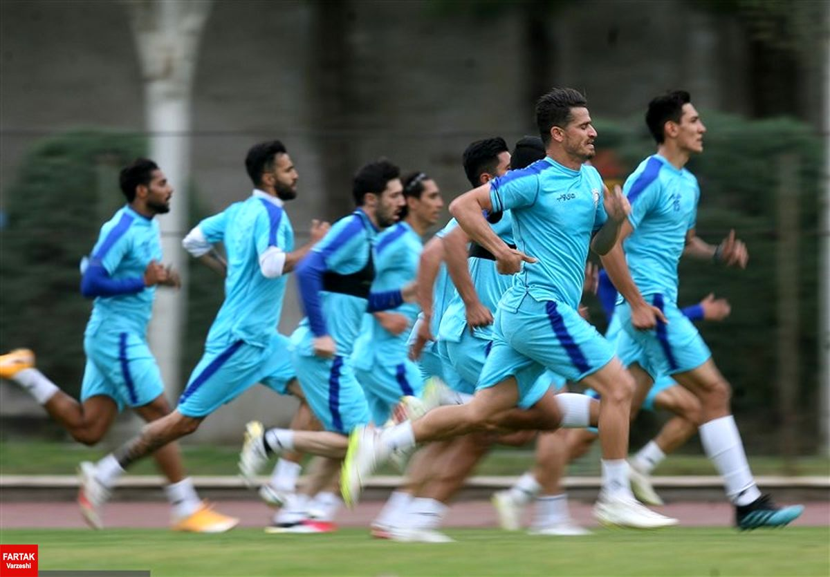 منفی شدن تست کرونای اعضای تیم استقلال در عربستان