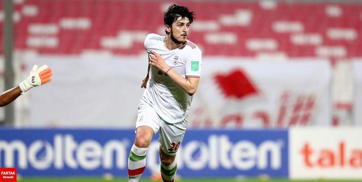 انتخابی جام جهانی   شلیک سرداران ایرانی به قلب شیخسلمان