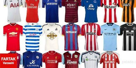 در آمد باشگاهها از فروش و اسپانسر پیراهن