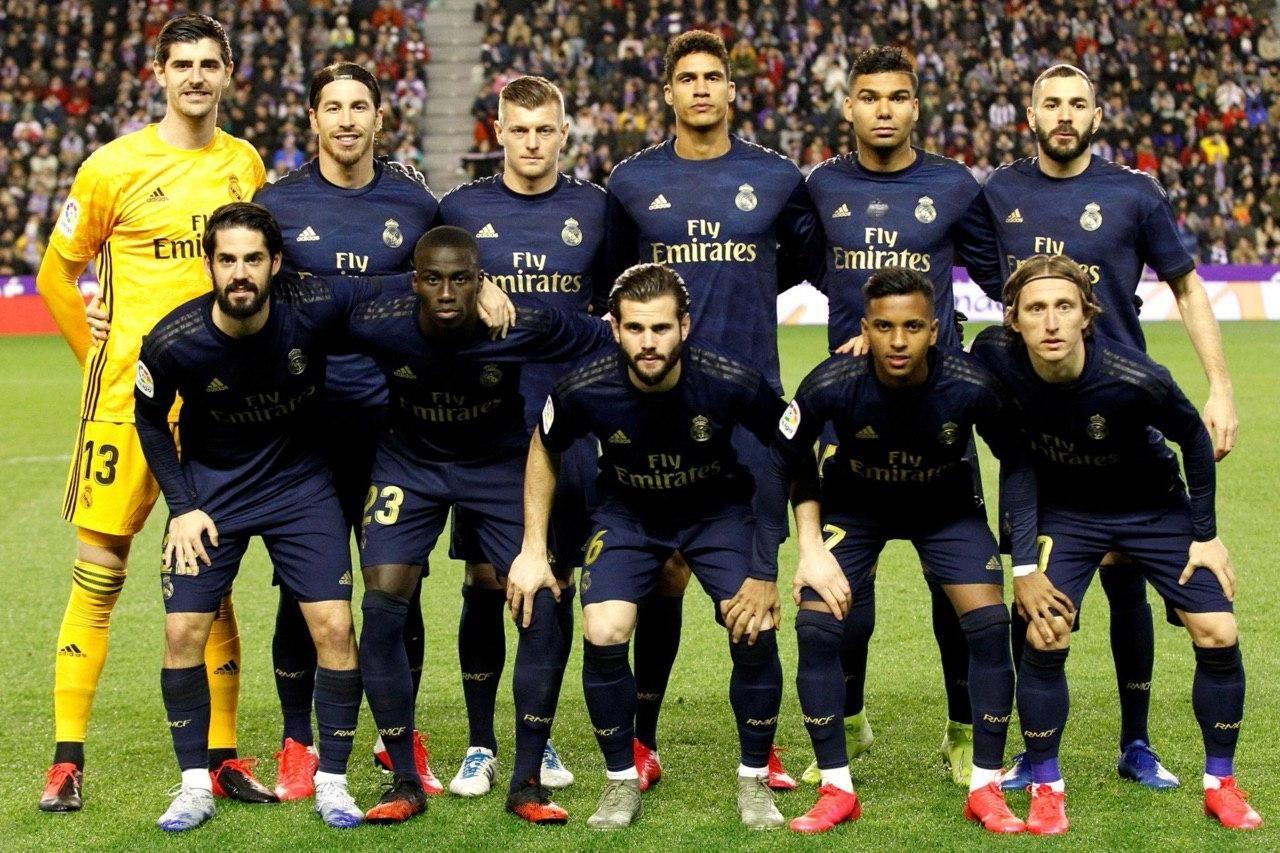 اعلام ترکیب اصلی دو رئال مادرید و اوساسونا