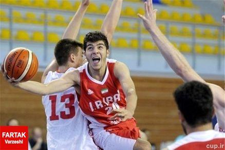 بسکتبالیست های نوجوان ایرانی امیدوار به کسب نتیجه