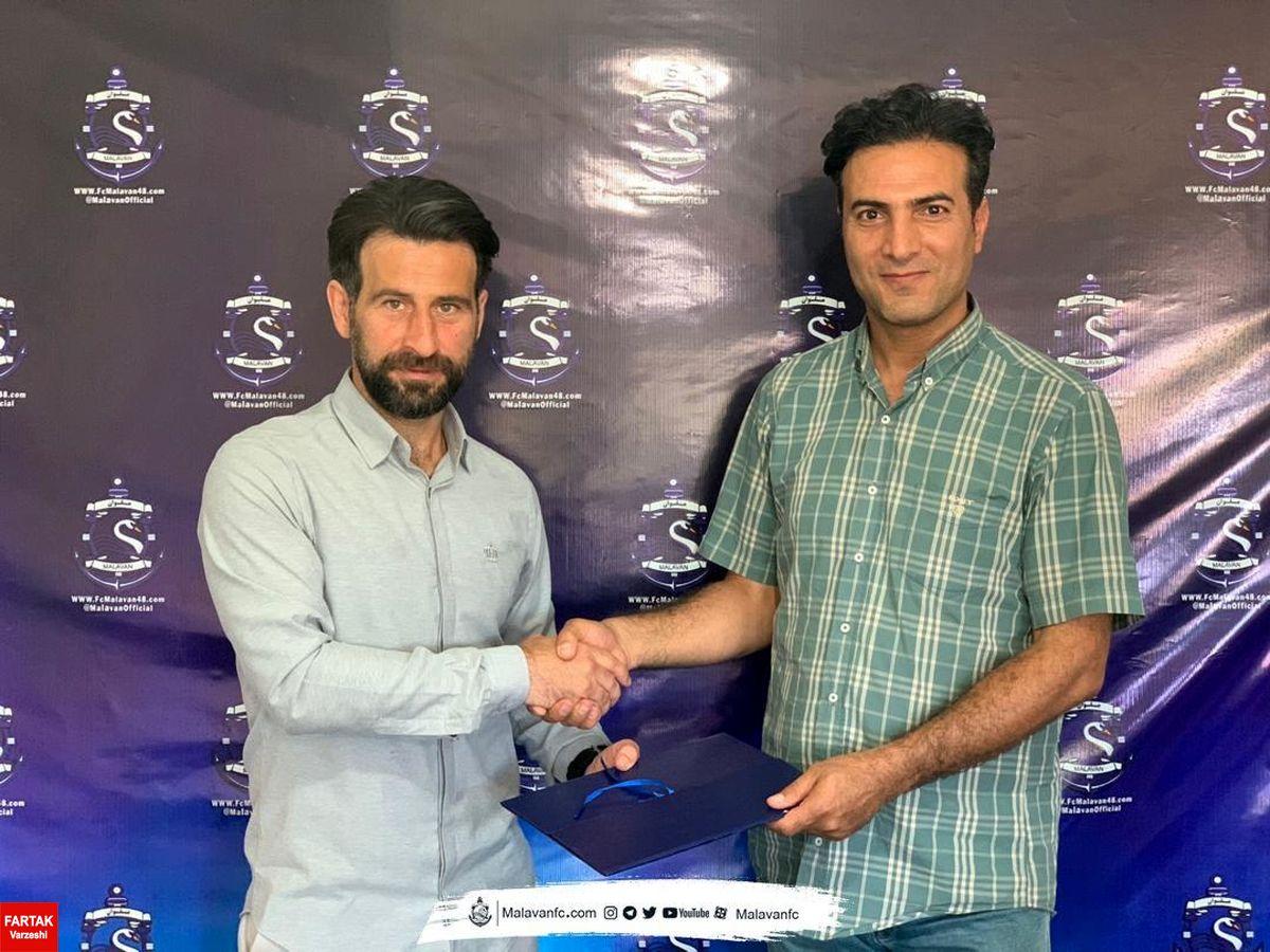 قرارداد اسپانسری شرکت پیشگامان صنعت کژال با باشگاه ملوان امضا شد